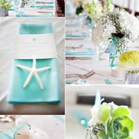  Another pretty beach tablescape!