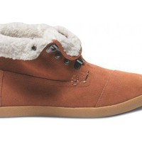 Highlands Chesnut Suede Fleece Women&#x27;s Botas | TOMS.com