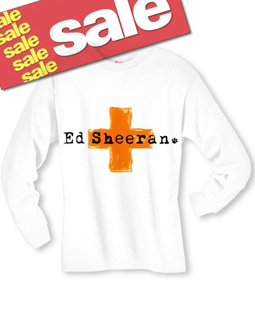 ed sheeran cross long sleeve t shirt from soulclothes gear. Black Bedroom Furniture Sets. Home Design Ideas