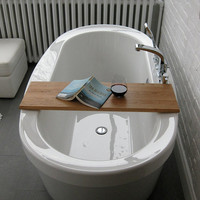 Wood Bathtub Caddy