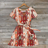 Dry Meadows Dress Dress, Sweet Women's Bohemian Clothing