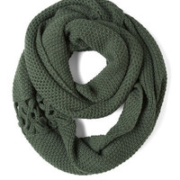A Shortcut Above Scarf in Green | Mod Retro Vintage Scarves | ModCloth.com