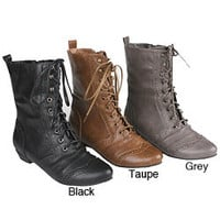 Refresh Women&#x27;s &#x27;Lee-01&#x27; Mid-calf Boots | Overstock.com