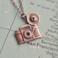 the shutterbug necklace by bellehibou on Etsy