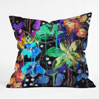 DENY Designs Home Accessories | Holly Sharpe Lost In Botanica 2 Throw Pillow