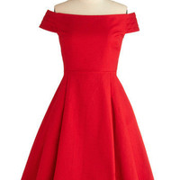 Holiday Sneak Peek - Kettle Corn Dress in Sunset | Mod Retro Vintage Dresses | ModCloth.com