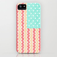 Zig Zag Flag. iPhone Case by Nick Nelson | Society6