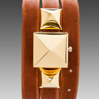 La Mer Cairo Pyramid Wrap Watch in Tan/Gold from REVOLVEclothing.com