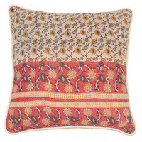 "Kathryn Ireland Shop — Peony Ralli Quilt 22"" Pillow"