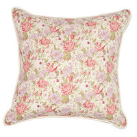 "Kathryn Ireland Shop — Single Sided Rose Sage 22"" Pillow"