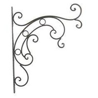Iron Wall Bracket with Swirl - Hobby Lobby