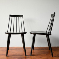 Vintage Yngve Ekstrom Sibbo Chairs