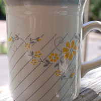 Gray Retro Coffee Cup