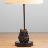 Owl Metal Accent Lamp Base | Lighting| Home Dcor | World Market