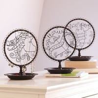 Wire Zodiac Jewelry Holder