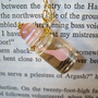 Mermaid Tear in a Bottle Necklace Pink by JanDaJewelry on Etsy