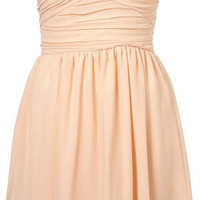 Chiffon Bandeau Dress by Rare** - Brands At Topshop