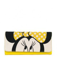 - MINNIE MOUSE WITH YELLOW BOW WALLET LOUNGEFLY OFFICIAL WEBSITE