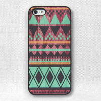 iPhone 5 Case - Tribal Wood - 009a