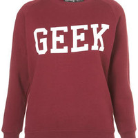 Petite Geek Sweat - New In This Week  - New In