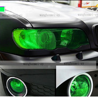 Smoked Fog Light Headlight Taillight Tint Vinyl Film Auto Car color size choose