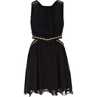 Black Little Mistress cut out dress