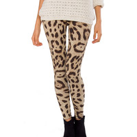 Wild Cat Leggings - 2020AVE