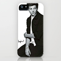 Louis Tomlinson One Direction Signature iPhone Case by Toni Miller | Society6