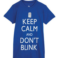 Dr. Who Keep Calm Tee