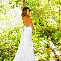 The White Goddess  Ceremonial Dress by MoonlightCrystals on Etsy
