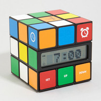 Digital Rubik's Cube Alarm Clock