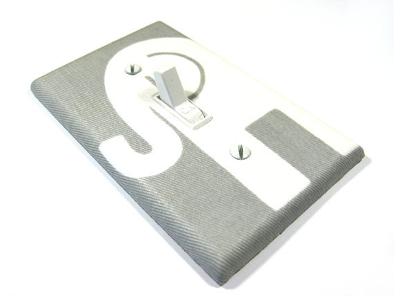 Light Switch Cover Gray Elep From Modernswitch On Wanelo