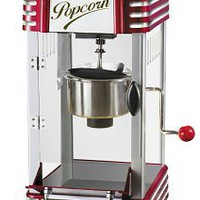 Nostalgia Electrics? RKP-630 Retro Series? Kettle Popcorn Maker, Red, Nostalgia Products Group - Barnes & Noble