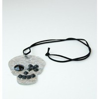Amanda's Skull Necklace - Necklaces - Accessories | Sugar and Sequins