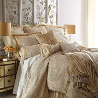 "Dian Austin Couture Home - ""Catherine's Court"" Bed Linens - Horchow"