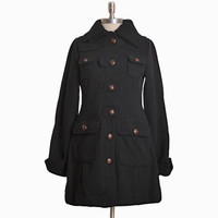 corabella cargo coat by Knitted Dove