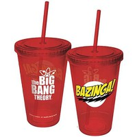 Big Bang Theory Bazinga! Travel Cup - ICUP - Big Bang Theory - Barware at Entertainment Earth