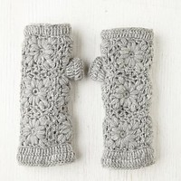 Free People Crochet Fleece Armwarmer
