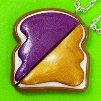 Peanut Butter Jelly Best Friends Necklace (The original)
