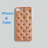 iPhone 4 case --icecream Sandwich,  iPhone 4S case,  plastic hard case or silicone rubber case