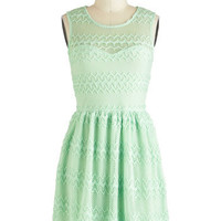 It's Only Mint Believe Dress | Mod Retro Vintage Dresses | ModCloth.com
