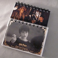 Harry Potter Recycled Mini Notebook Lot of 2