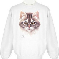 Kitten Face Sweatshirt