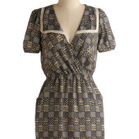 Checker It Out Dress | Mod Retro Vintage Printed Dresses | ModCloth.com
