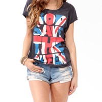 God Save The Queen Top