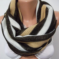 Elegant and soft  Infinity Scarf  Circle Scarf
