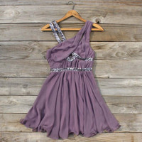 Lavender Fields Party Dress, Sweet Women&#x27;s Bohemian