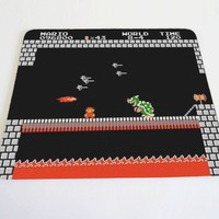 MarioBros world 84 mouse pad by DesignNoy on Etsy