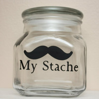 My Stache - MINI - Mustache Money Jar