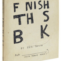 Finish This Book | Mod Retro Vintage Books | ModCloth.com